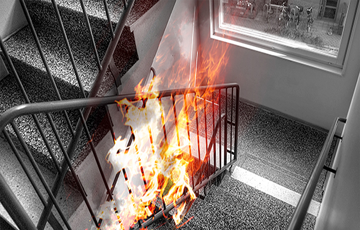 Brandskydd för Brf Vingården
